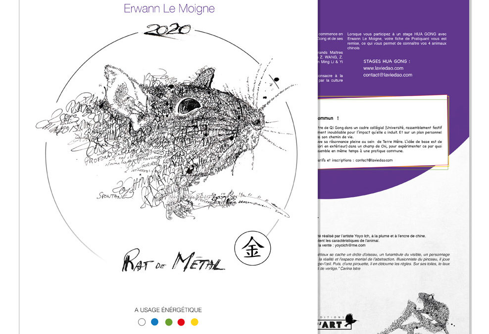 Calendrier Hua Gong 2020